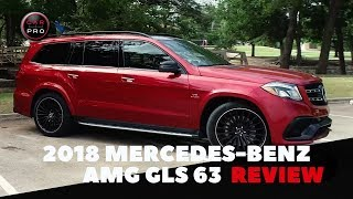 The 2018 Mercedes-Benz AMG GLS 63 Is a Luxurious 577-Horsepower Showstopper
