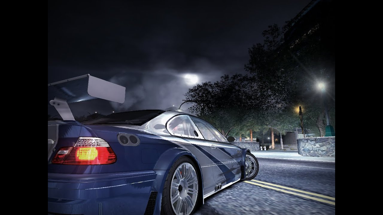 Need For Speed Carbon Bmw M3 Gtr E46 Youtube