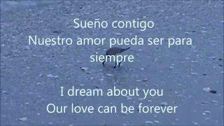 Poem in Spanish. Lyrics in Spanish and English.