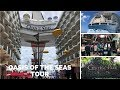 Oasis of the Seas Tour Walk Through 2018