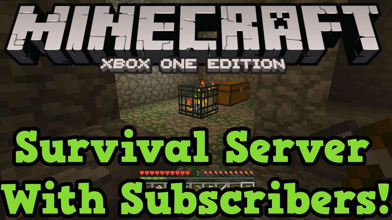 Minecraft Xbox One ( / PS9) Survival Server LIVE