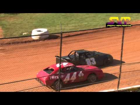 411 Motor Speedway / Mini Stock Heat / April 9 , 2016