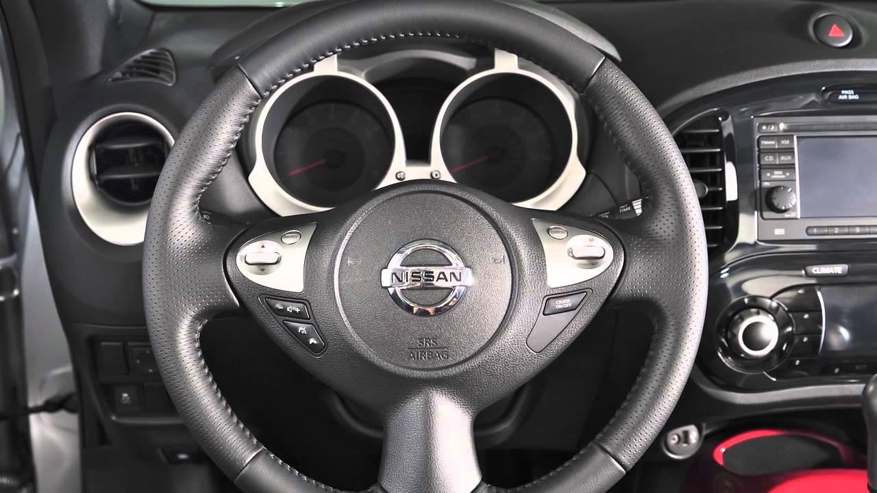 2013 NISSAN Juke - Steering Wheel Audio Controls