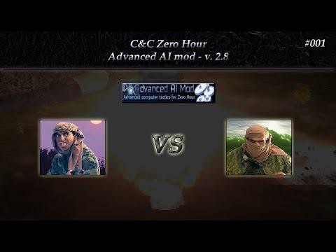 [Zero Hour] 1v1 - Advanced AI mod v 2.8 - #001