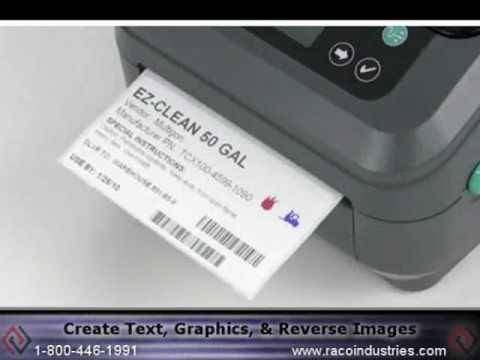 Color on Demand Using Zebra Thermal Label Printer
