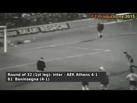 1971-1972 European Cup: FC Internazionale Goals (Road to the Final)