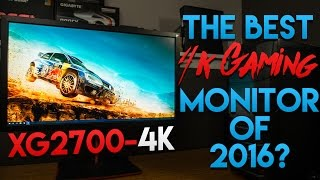 The Best 4K Gaming Monitor of 2016? | QwazyTech | ViewSonic XG2700-4K Review