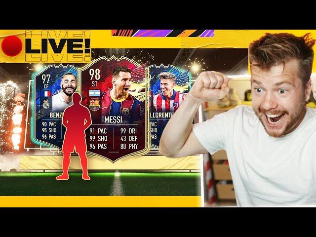 CZERWONY MESSI! PACK OPENING! W FIFA 21!