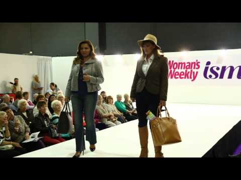 isme - Weekend Chic AW13 Fashion - Catwalk Show at Woman's Weekly Live