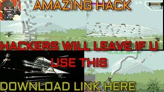 Ultimate Hack That Will Knockout Hackers From The Game - Get Download Link HERE // Mini Militia DA2