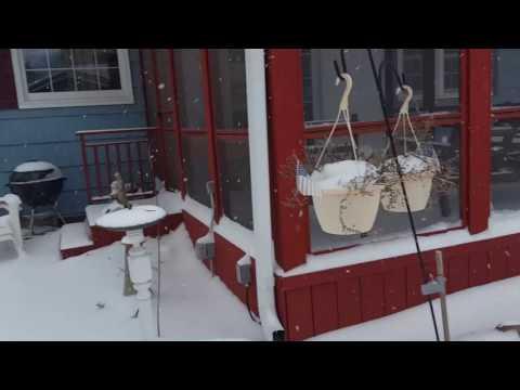 Montevideo Minnesota March snow 2017