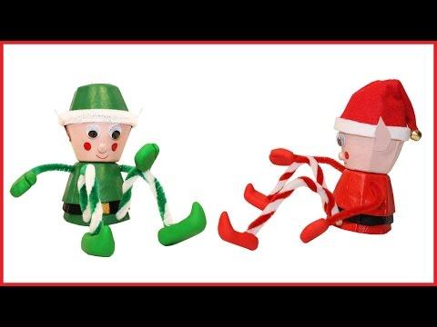 Make a Christmas Elf to put on a Shelf