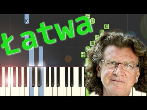🎹 Zacznij od Bacha (Zbigniew Wodecki) - Piano Tutorial (łatwa wersja) 🎹