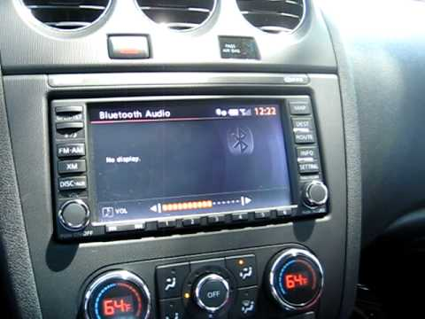 Nissan Altima 2.5S >> 2010 Nissan Altima Bose Audio Demo #2 - YouTube