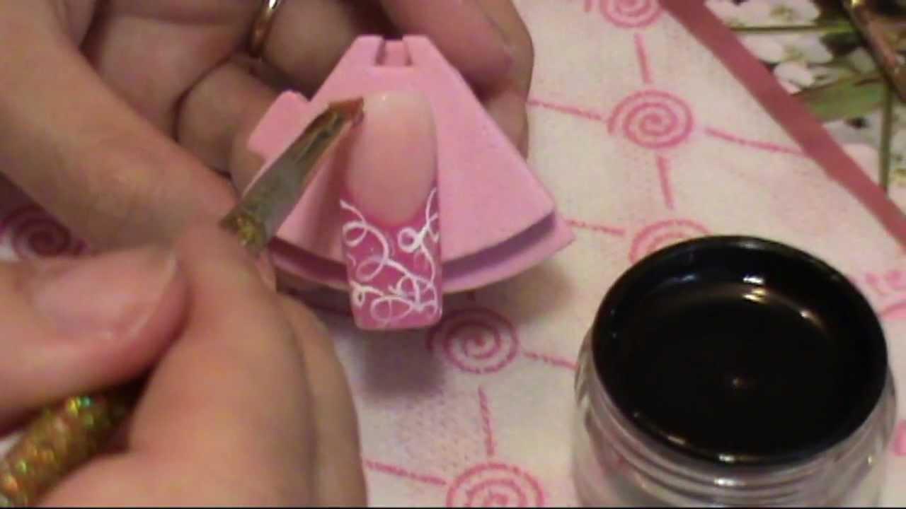 фото дизайн ногтей цветными гелями