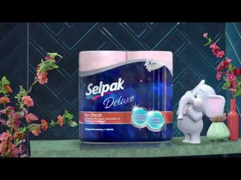 Selpak Deluxe Refresh Toilet Paper – Kazakhstan 2019