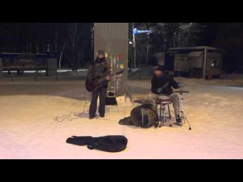 Street music. Novosibirsk. Siberia. Russia. 2015