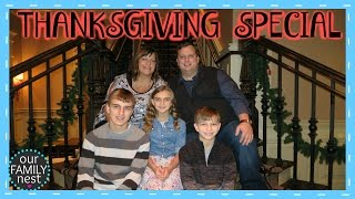 our family nest thanksgiving special 2015 nashville day two