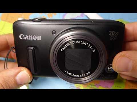 Review Canon PowerShot SX260HS