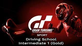 Gran Turismo Sport - Driving School - Intermediate 1 (Gold)