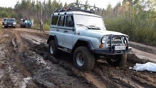 УАЗ с двигателем от Волги