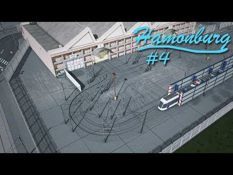 Cities Skylines: Hamonburg #4 - Custom Tram Depot + Transport Hub