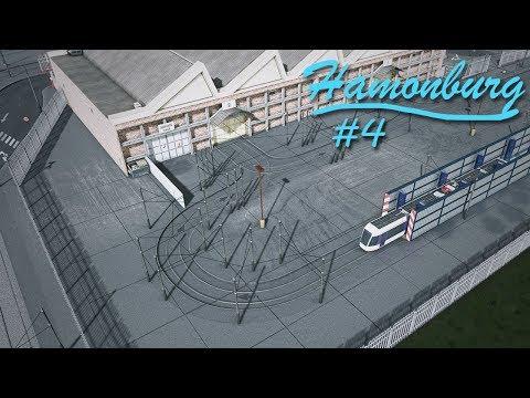 Cities Skylines: Hamonburg #4 - Custom Tram Depot + Transport Hub
