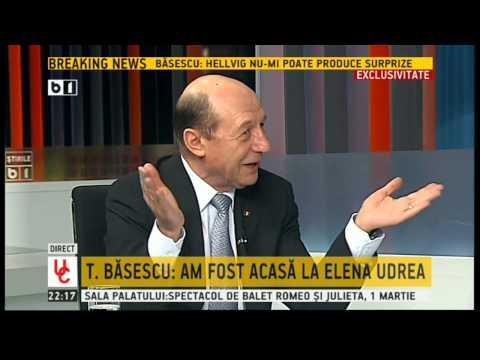 Traian Basescu: Am fost la Elena Udrea acasa, in arestul la domiciliu