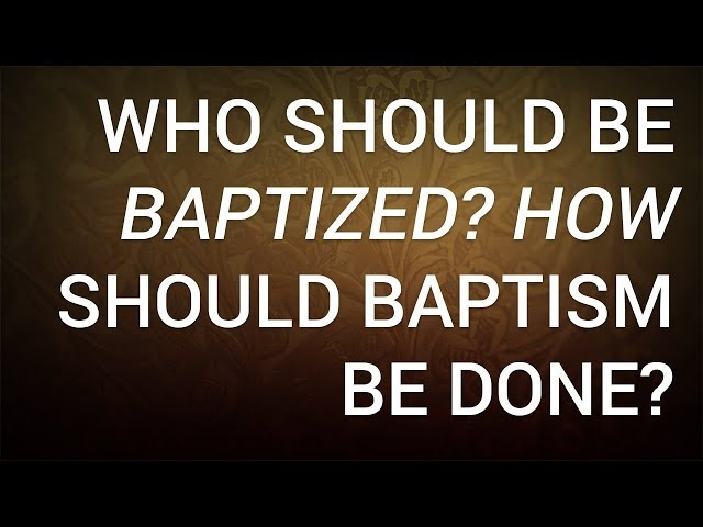 What Is Baptism Biblical Meaning And Definition