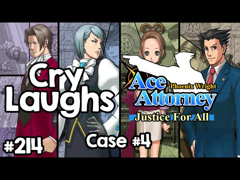 Nearing the end? | Phoenix Wright: Justice for All Case 4 #5 [FULL SESSION]