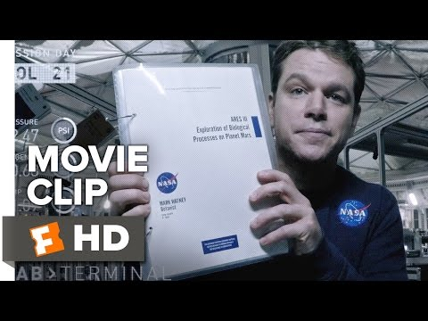 The Martian Movie CLIP - Let's Do the Math (2015) - Matt Damon, Jessica Chastain Movie HD