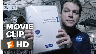 The Martian Movie CLIP - Let