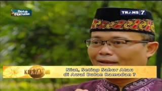 03. Niat, Setiap Sahur Atau di Awal Bulan Ramadhan? - Tanya Khazanah TRANS7 25 Mei 2017 2017 Video