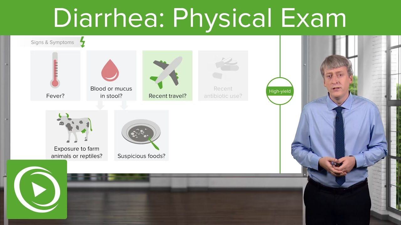Diarrhea: History & Physical Exam – Pediatric Gastroenterology | Lecturio