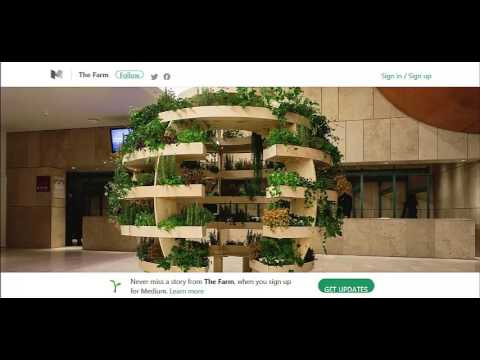 Open Source Agricultural Architecture - Build a Beautiful Verticle Garden