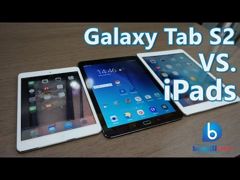 Make Galaxy Tab S2 VS iPads - Comparativo Snapshots