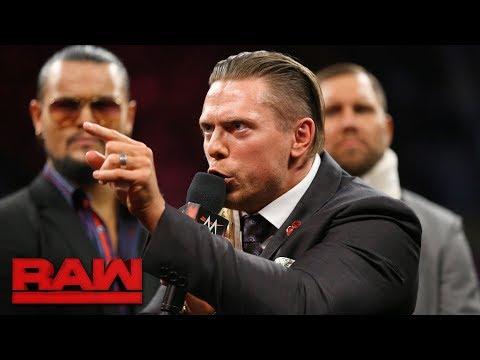 The Miz accuses Kurt Angle of masterminding Kane