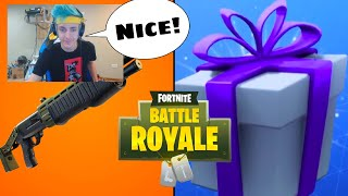 *NEW* LEGENDARY PUMP SHOTGUN AND GIFTING UPDATE | Fortnite Battle Royale | Fortnite Engine |