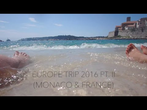 ♡ TRAVEL VLOG: Monaco & France | May 2016 ♡