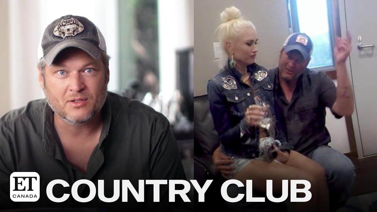 Blake Shelton Praises Gwen Stefani In Romantic 'Nobody But You' BTS Video