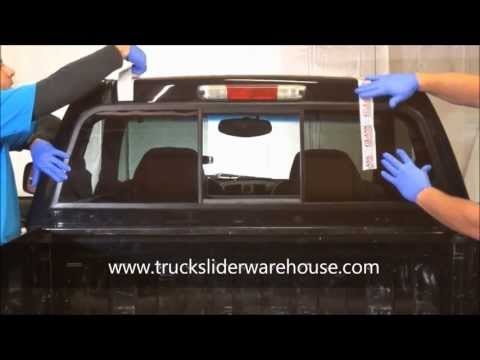 How to Install a Sliding Rear Window