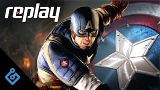 Replay – Captain America: Super Soldier