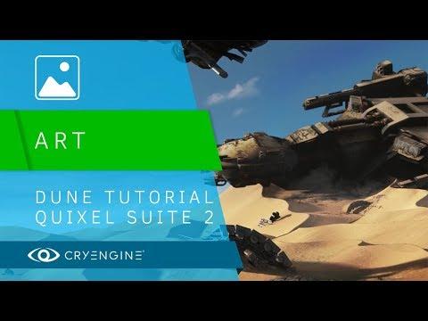 CRYENGINE Dunes Tutorial - Quixel Suite 2 & Megascans