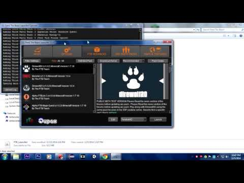 FTB Cracked Java.lang.nullpointerexception ERROR FIX! Minecraft 1.7.10 Modpacks