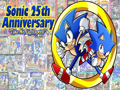 Sonic 25th Anniversary  Take Me, Lightspeed