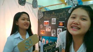 Foundation Year Exhibition | ជួបស្រីស្អាតនៅសាលាUP a LOT!!! VLOG_15