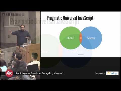 Building Universal JavaScript Applications with React - Rami Sayar