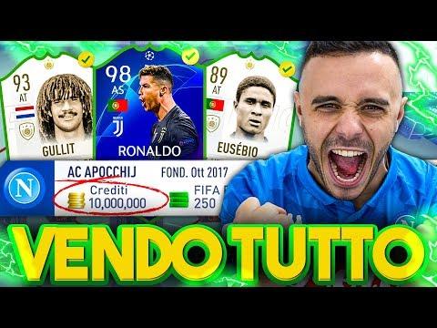 BASTA! VENDO TUTTO!!! NUOVA SQUADRA su FIFA 19! w/Ohm, Enry Lazza e T4tino23
