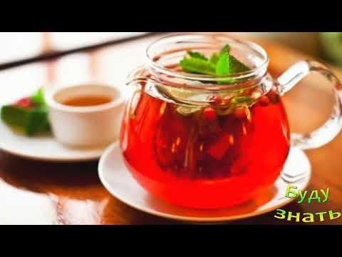 Отеки поможет согнать Брусничный чай