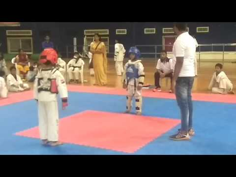 Best Taekwondo Knockout | 2017 | Greenwood Taekwondo Academy Mathura Balgepram
